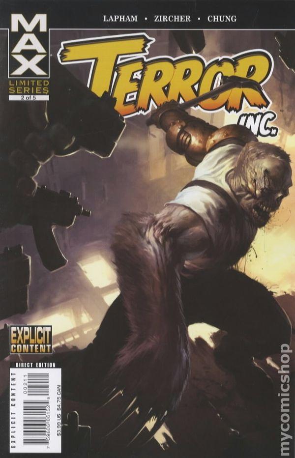 Terror Inc 2007 2nd Series 2