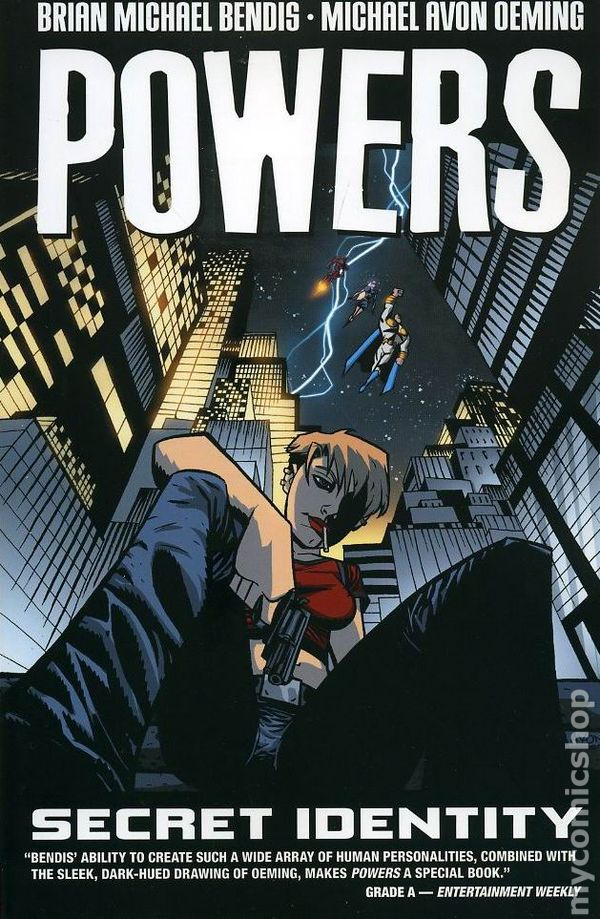 Powers Tpb 2000 2012 Imageicon 1st Edition Comic Books