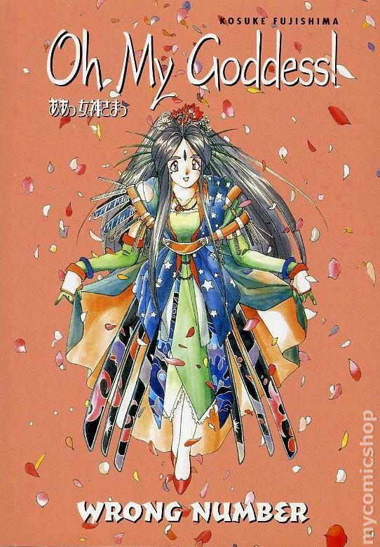 Omnibus Volume 1,2,3,4,5 Manga Graphic Novels Set English Oh My Goddess
