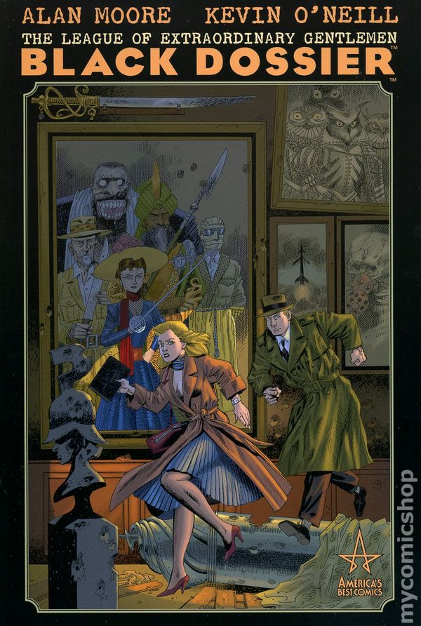 League of Extraordinary Gentlemen The Tempest Ashcan Preview Moore O/'Neill 2018