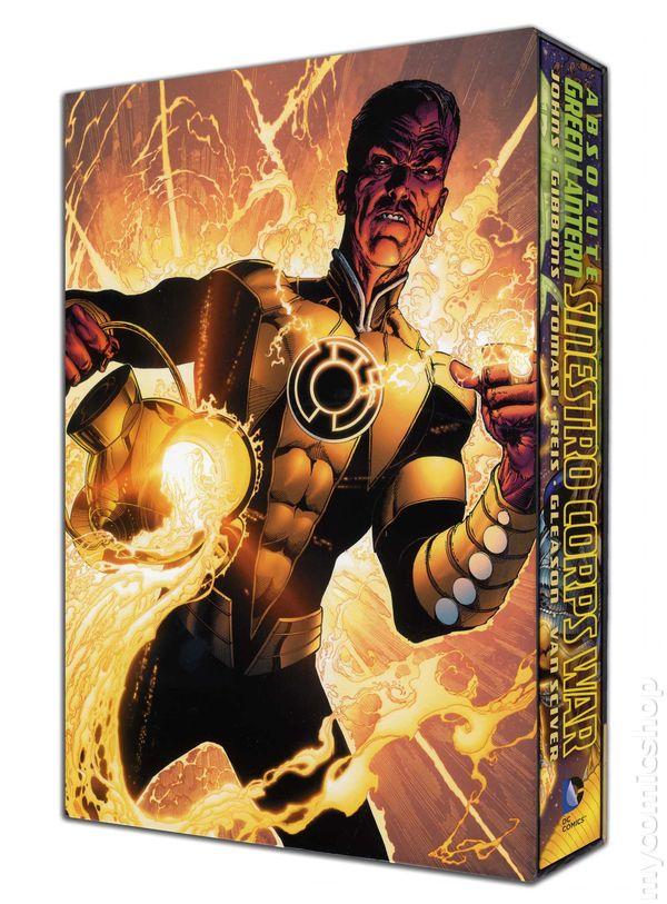 absolute green lantern the sinestro corps war hc 2012 dc comic books