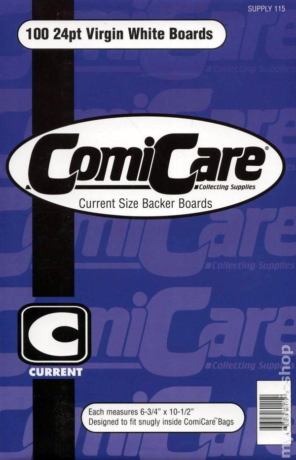 COMICARE 100 SILVER AGE COMIC BOOK BOARDS