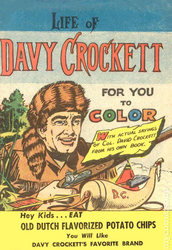 Color Davy Crockett | Worksheet | Education.com | 871x600