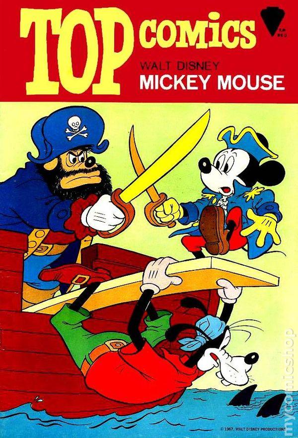 Top Comics Mickey Mouse (1967) comic books 67eddec41f93f