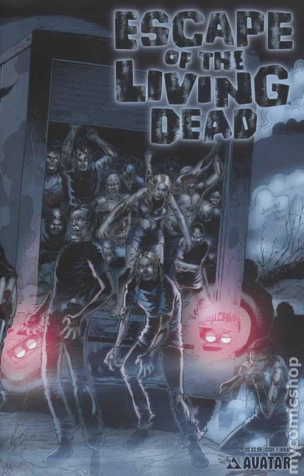Zombie Horde Art Escape of the Living D...
