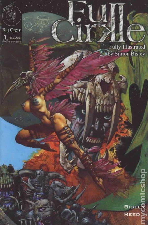 Simon Bisley Art Lobo, Hellblazer #1a FULL CIRKLE II 2nd Series 1st Print