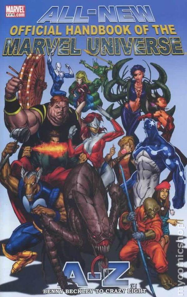 Comic books in 'Marvel Index'