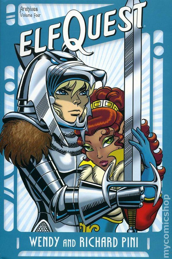 ELFQUEST DC Archive volume 2 HC NEW - DC Comics SIGNED!