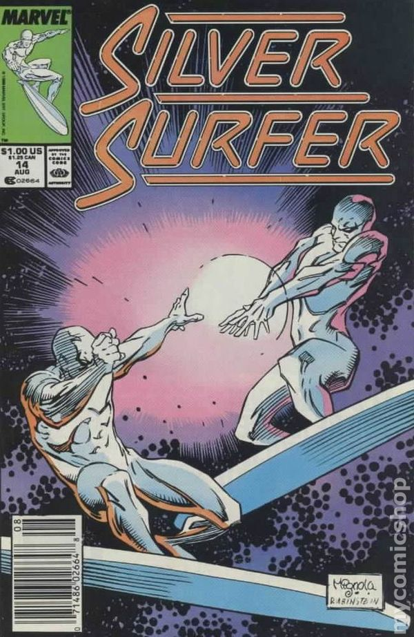Silver Surfer Comic Books Issue 14