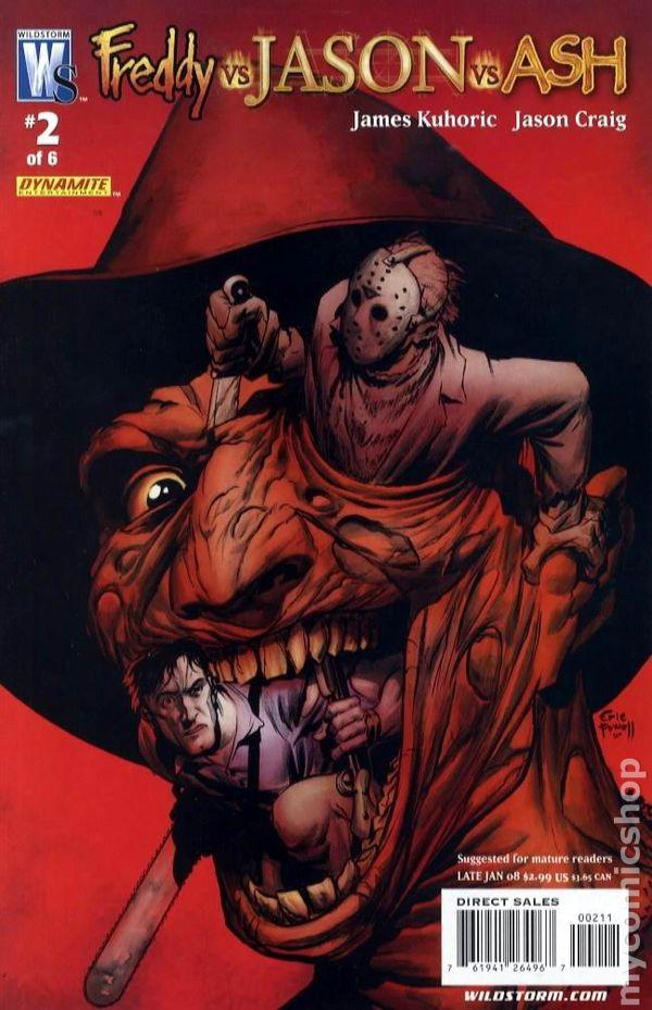 Freddy vs. Jason vs. Ash (2007) comic books