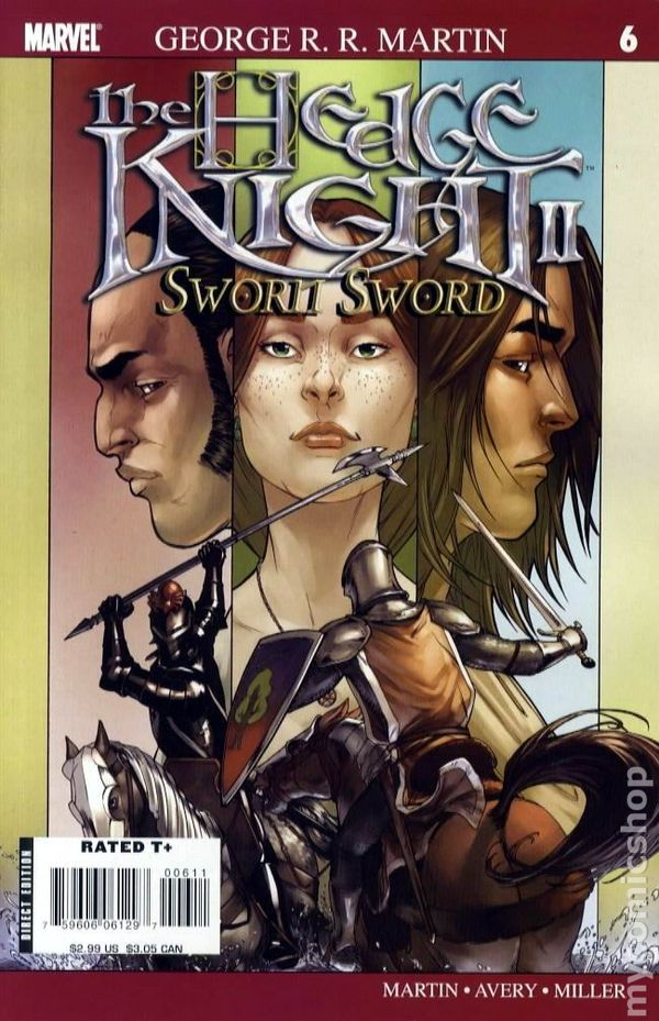 the mystery knight comic pdf