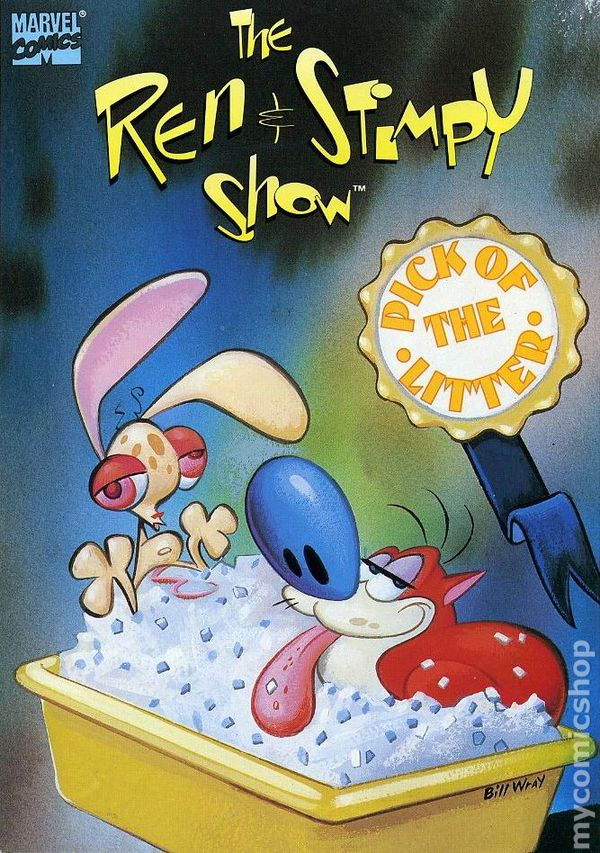 ren and stimpy show pick of the litter tpb 1993 marvel comic books