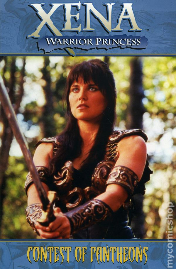 Xena warrior princess tpb 2007 2008 dynamite comic books Xena coloring book