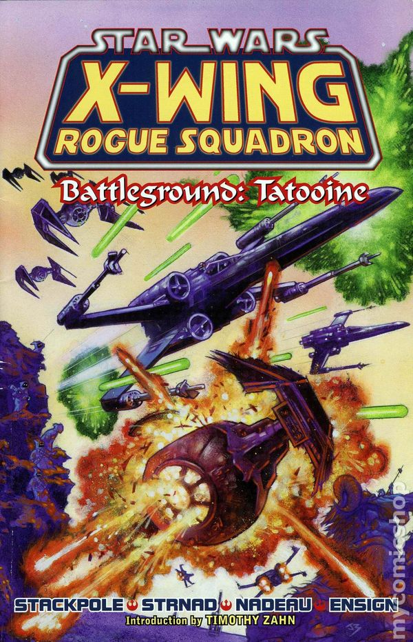 a book review of star wars x wing rogue squadron by michael a stackpole The x-wing books were not only portals to star wars™, but to reading itself   rereading the adventures of the pilots of rogue squadron and aaron allston's  wraith squadron  i'm working on my reviews of the x-wing novels myself  hi  michael, the x-wing series was the first eu books i started reading.