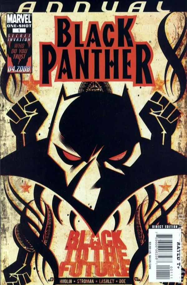 Black Panther 2005 Marvel 3rd Series Annual Comic Books