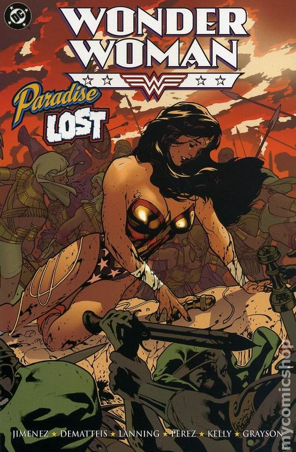 Wonder Woman Paradise Lost Cover