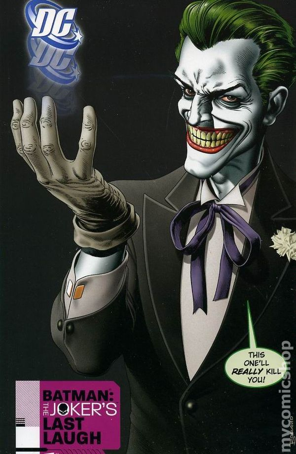 batman the jokers last laugh tpb 2008 dc comic books