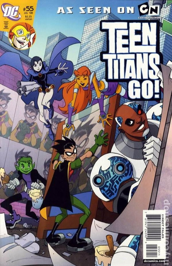 Teen Titans Go 2004 Comic Books-1632