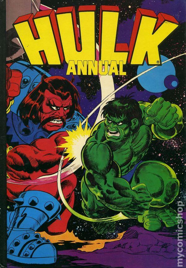 Incredible Hulk Annual Hc 1977 2009 Grandreams Pedigree