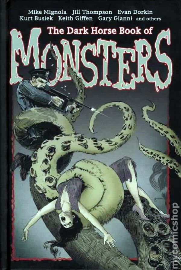 Comic Books In Dark Horse Horror Books Series