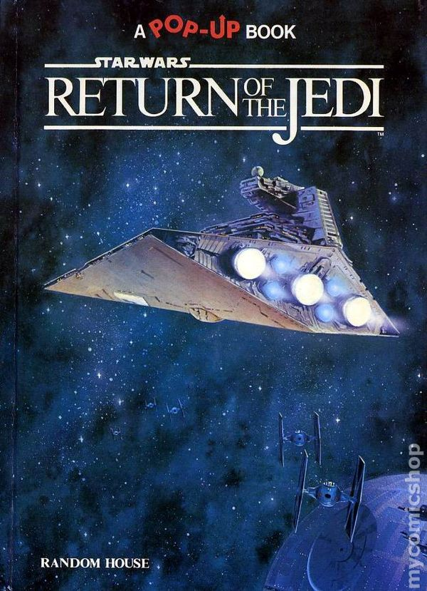 Star Wars Battle of the Bounty Hunters HC (1996 Dark Horse) The Pop-Up  Comic Book 1-1ST NM