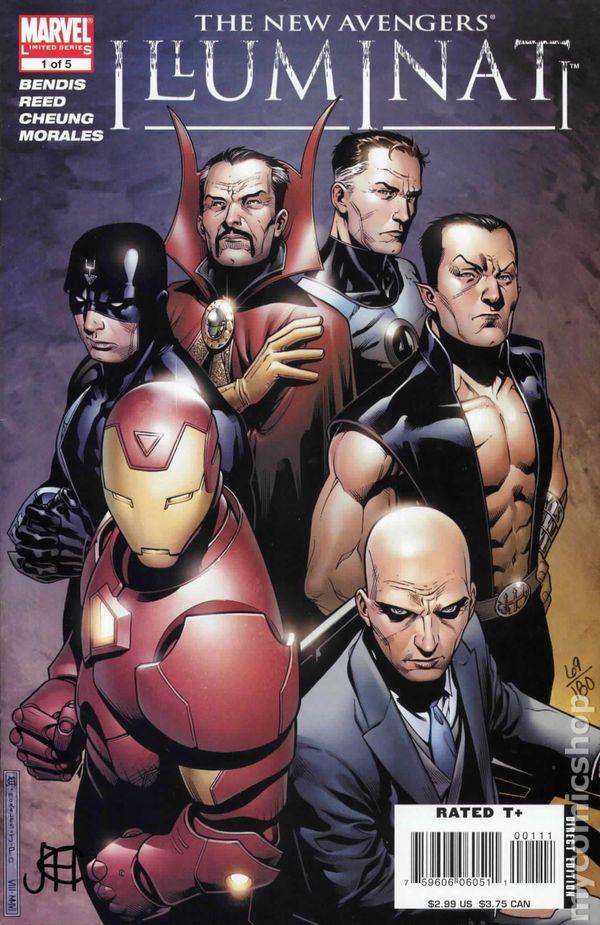 Illuminati #1 Brown Hip Hop Variant Marvel Comics Unread New