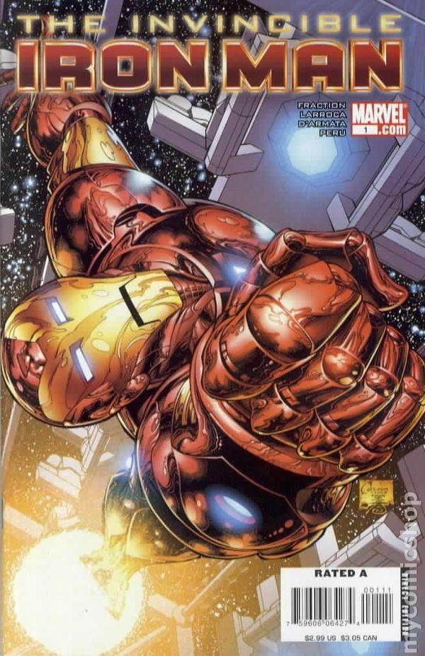 Invincible Iron Man 2008 Comic Books