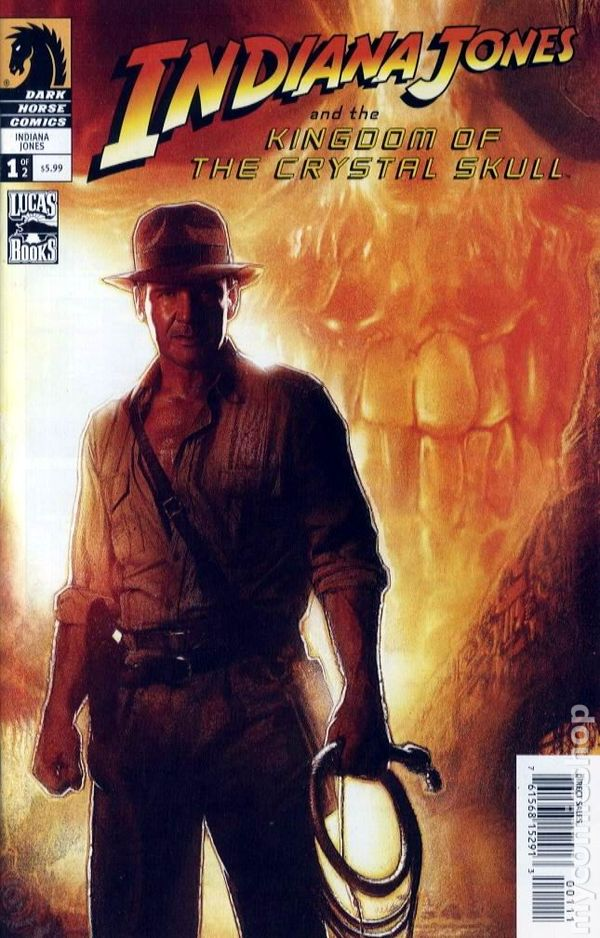 Indiana Jones And The Kingdom Of The Crystal Skull 2008 Comic Books