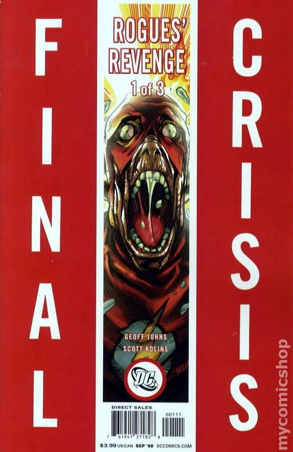 FINAL CRISIS ROGUES REVENGE #1-3 NEAR MINT REGULAR COVER COMPLETE SET 2008