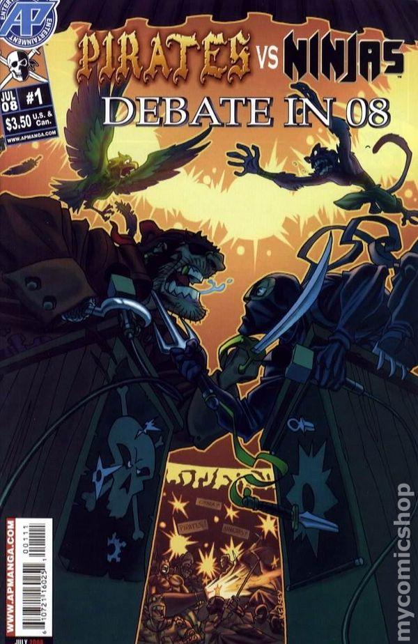 Pirates vs ninjas essay