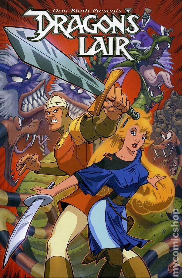 Dragon 39 s lair hc 2008 arcana comic books for Dragon s lair