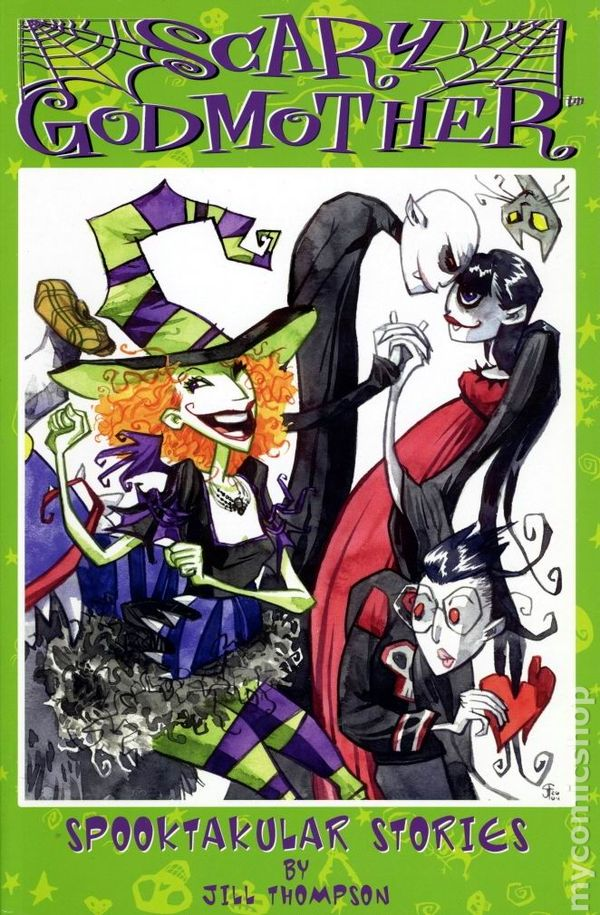 scary godmother spookacular stories tpb 2004 comic books