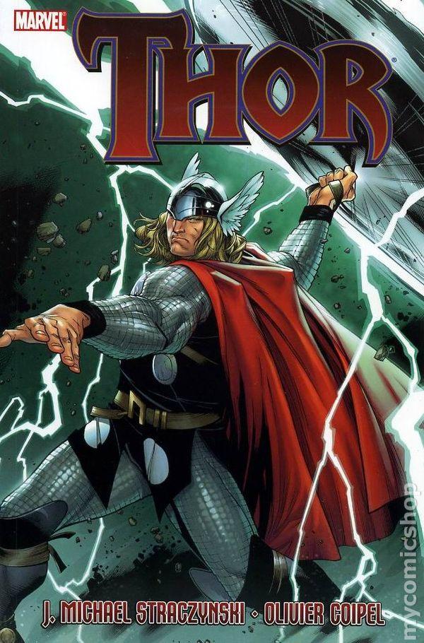 Thor TPB (2008-2010 Marvel) By J. Michael Straczynski ... | 600 x 910 jpeg 130kB
