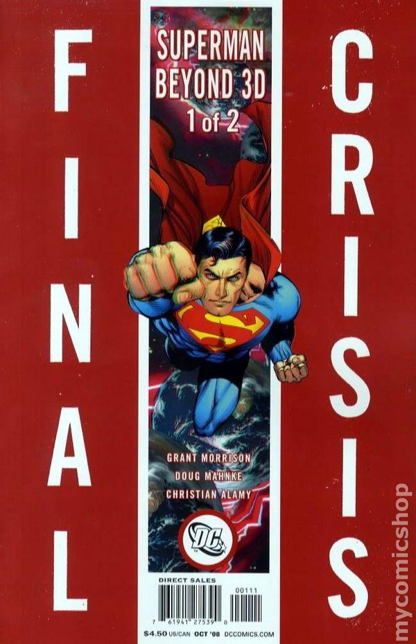 Final Crisis Superman Beyond 3 D 2008 1A