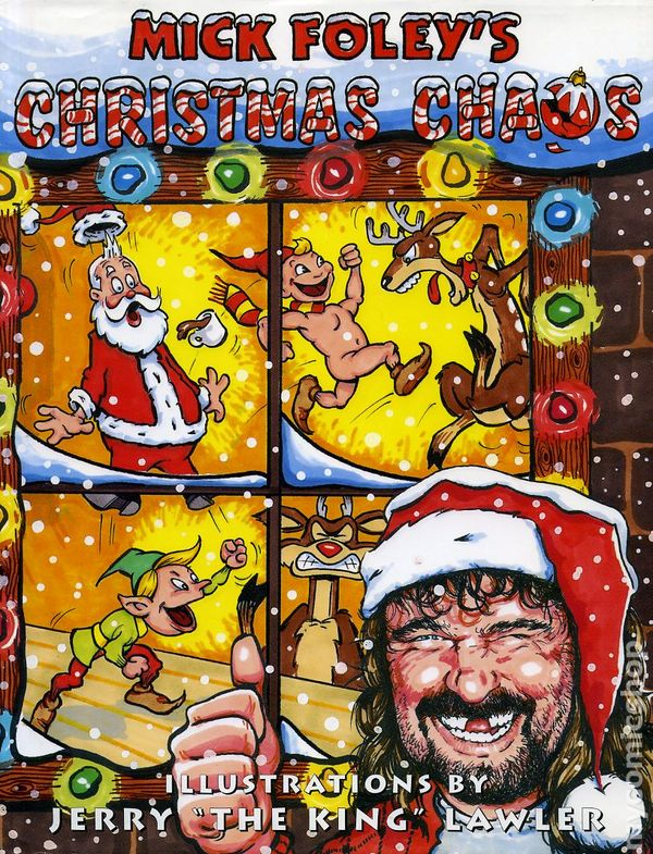 mick foleys christmas chaos hc 2000 comic books