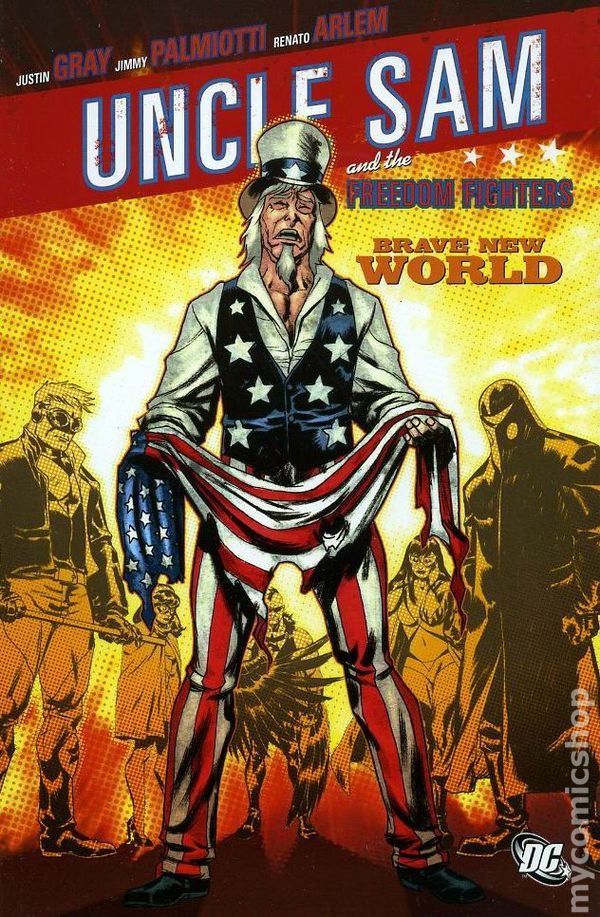 Image result for dc comics uncle sam and the freedom fighters