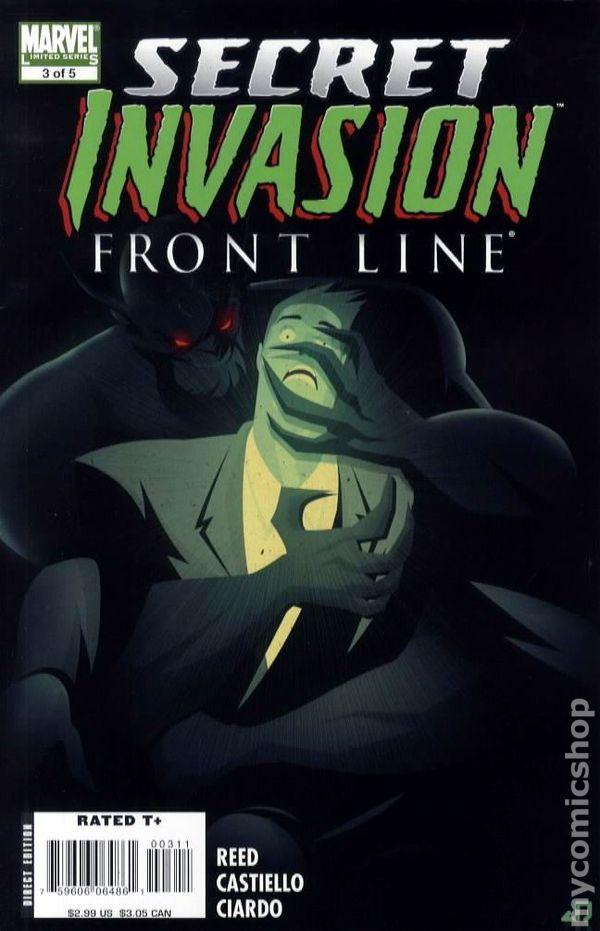 Secret Invasion Inhumans #2 2008 VF Stock Image