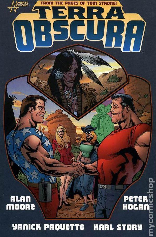 Terra Obscura Tpb 2004 2005 Americas Best Comics Comic Books