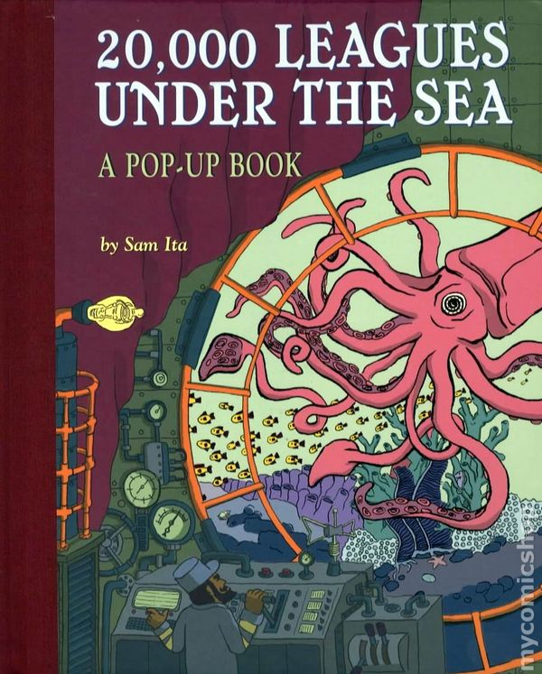 20 000 Leagues Under The Sea Hc 2008 Sterling A Pop Up Book Comic Books