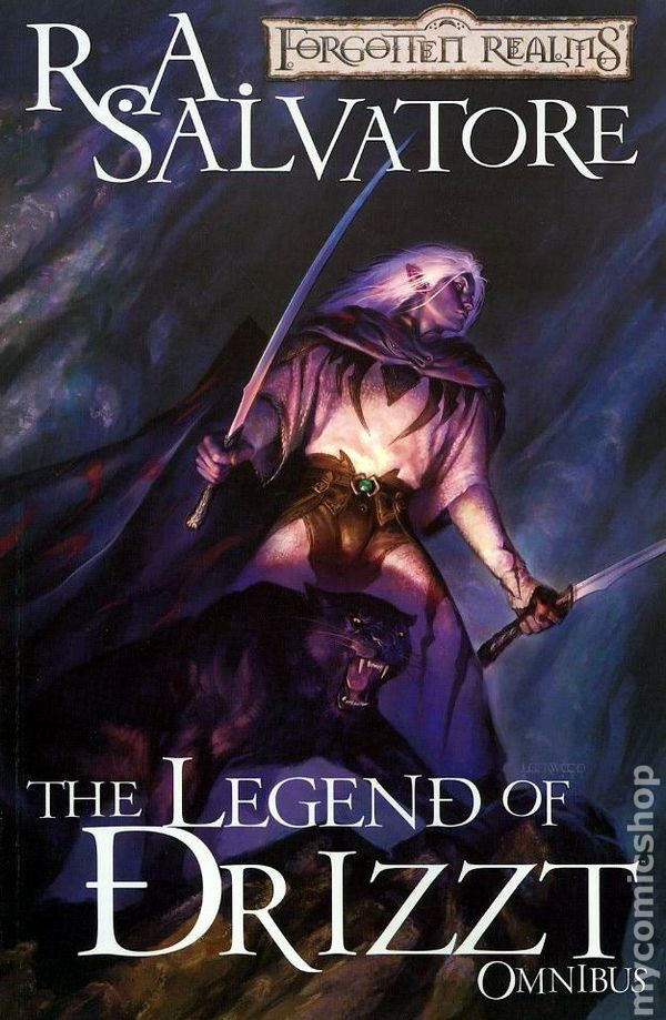 Forgotten Realms The Legend of Drizzt Omnibus TPB (2008-2009 Devil's Due)  2-1ST FN
