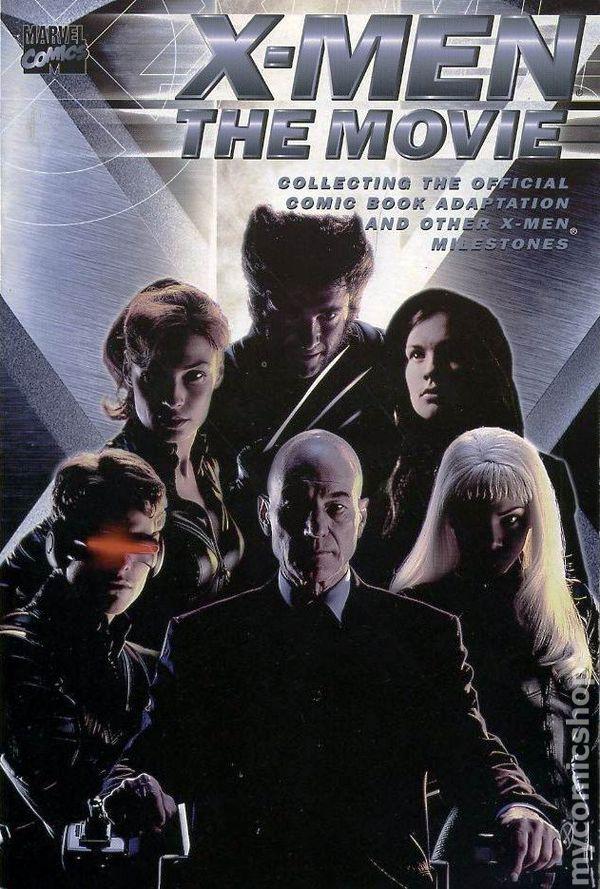 X Men The Movie Tpb 2000 Marvel Comic Books