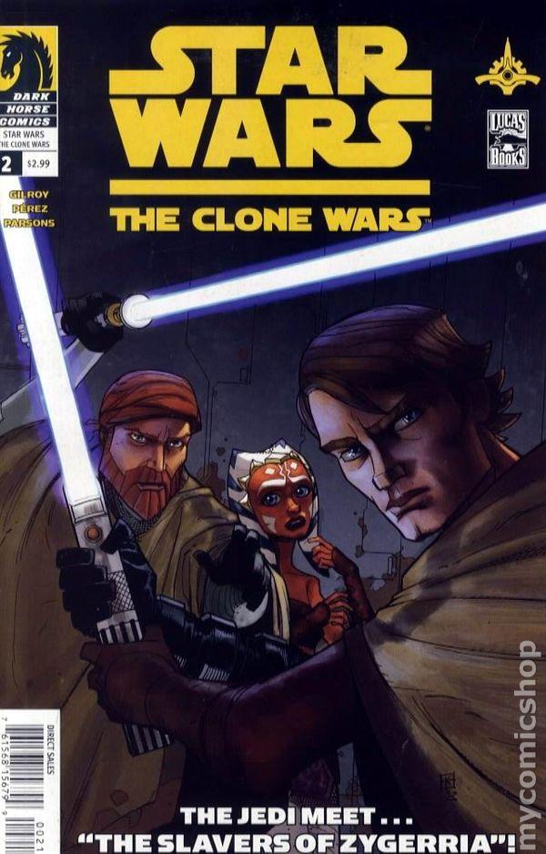 star wars clone wars 2008 dark horse comic books