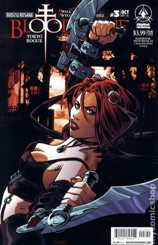Bloodrayne Tokyo Rogue 2008 Comic Books