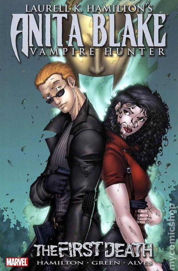 Anita Blake Vampire Hunter The First Death TPB (2009 Marvel) 1-1ST VF