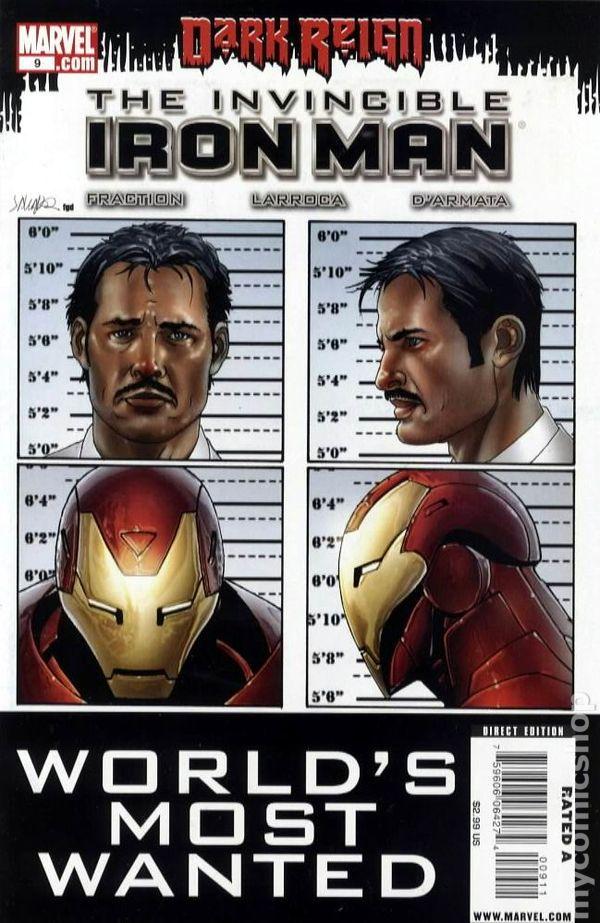 Invincible Iron Man 2008 series # 510 near mint comic book