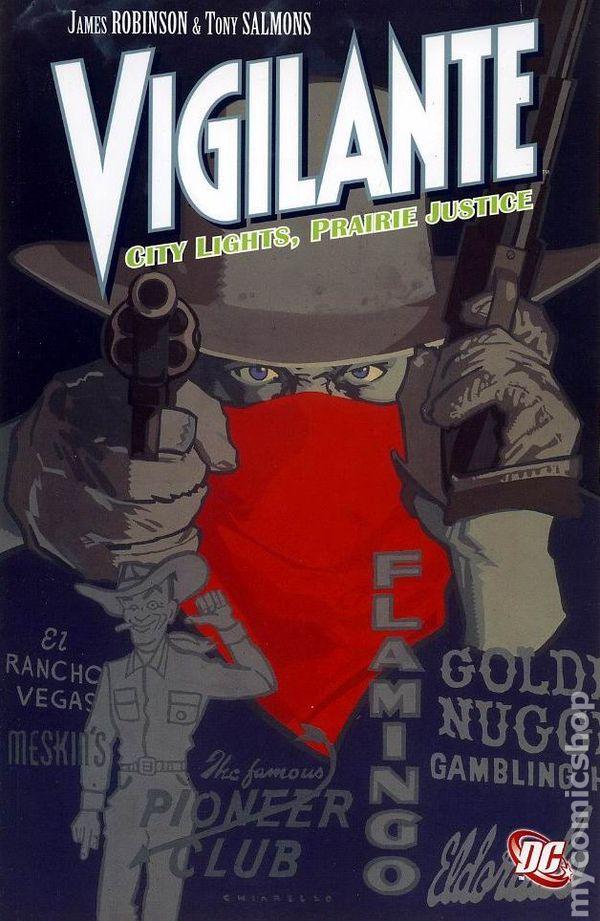 Vigilante City Lights Prairie Justice Tpb 2009 Dc Comic Books