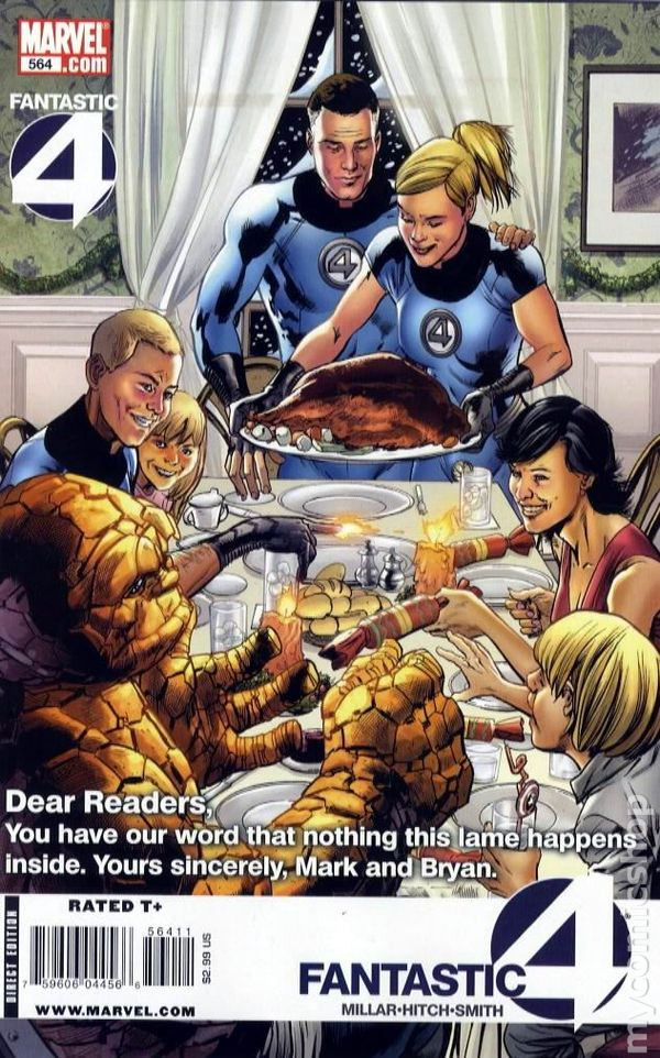 comic books in  u0026 39 norman rockwell thanksgiving dinner cover u0026 39