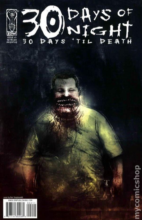 30 Days Of Night 30 Days Til Death 2008 Comic Books