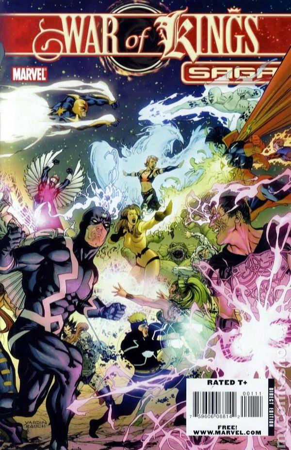 0fef5c0fc2033 War of Kings Saga (2008 Marvel) 0