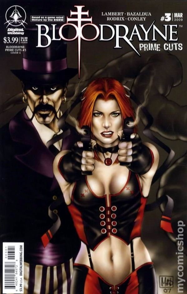 Bloodrayne Prime Cuts Comic Books Issue 3